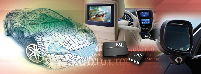 ISSI sampling AEC-Q100 Qualified SLC NAND Flash for Automotive & Industrial Applications