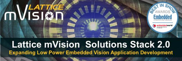 Lattice mVision Solutions 2.0 Stack