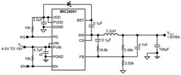MIC2405x: Family of Integrated FET DC-DC