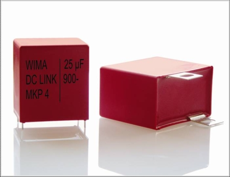 Intermediate Circuit Capacitors from WIMA